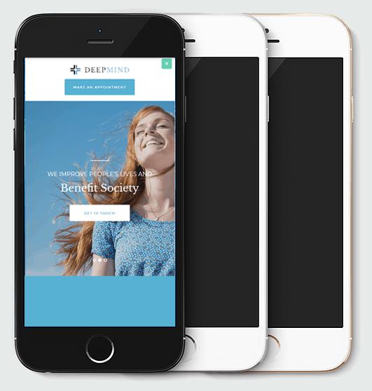 Conception site web pour mobile